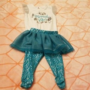 Cat & Jack mermaid outfit